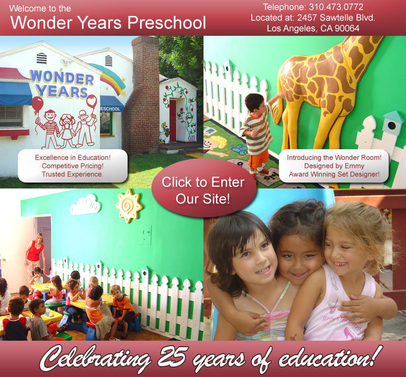 Wonder Years West Los Angeles Preschool